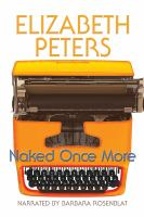 Cover image for Naked once more