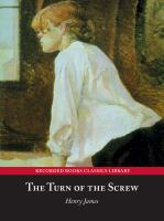 Cover image for The turn of the screw