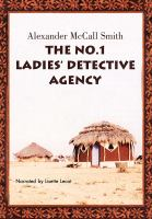Cover image for The No. 1 Ladies' Detective Agency