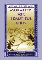 Cover image for Morality for beautiful girls