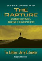 Cover image for The rapture in the twinkling of an eye