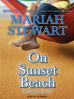 Cover image for On sunset beach. bk. 8 [sound recording CD] : Chesapeake diaries series