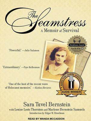 Imagen de portada para The seamstress a memoir of survival