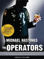 Imagen de portada para The operators the wild and terrifying inside story of america's war in afghanistan