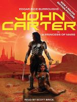 Imagen de portada para A princess of Mars. bk. 1 John Carter of Mars series