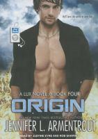 Imagen de portada para Origin. bk. 4 Lux series