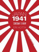 Imagen de portada para Japan 1941 countdown to infamy