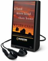 Cover image for A land more kind than home a novel