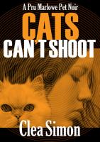 Cover image for Cats can't shoot. bk. 2 [sound recording CD] : Pru Marlowe pet noir series