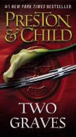 Cover image for Two graves. bk. 12 Pendergast series