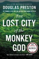 Cover image for The Lost City of the Monkey God [large print]
