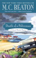 Cover image for Death of a policeman. bk. 29 Hamish Macbeth series