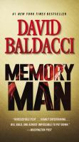 Cover image for Memory man. bk. 1 Amos Decker series