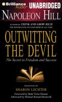 Cover image for Outwitting the devil [sound recording CD] : the secret to freedom and success