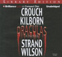 Cover image for Draculas a novel