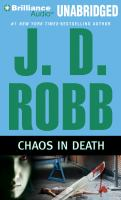 Imagen de portada para Chaos in death. bk. 33.5 In death series