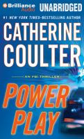 Cover image for Power play. bk. 18 [sound recording CD] : FBI thriller series