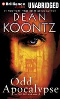 Cover image for Odd apocalypse. bk. 5 Odd Thomas series