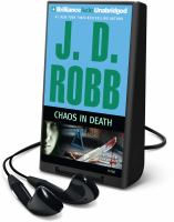 Cover image for Chaos in death. bk. 33.5 In death series