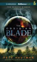 Cover image for The obsidian blade. bk. 1 Klaatu diskos
