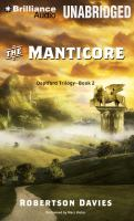 Imagen de portada para The manticore. bk. 2 [sound recording MP3] : Deptford trilogy