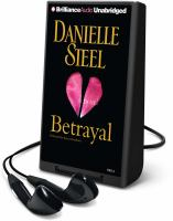Cover image for Betrayal a novel