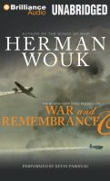 Cover image for War and remembrance. Part 1, Discs 1-24