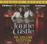 Cover image for The chilling deception. bk. 2 [sound recording CD] : Guinevere Jones series