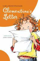 Cover image for Clementine's letter