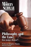 Cover image for Philosophy and the law
