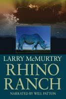 Cover image for Rhino ranch