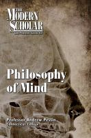 Cover image for Philosophy of mind