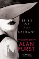 Cover image for Spies of the balkans Night Soldiers Series, Book 11.