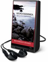 Cover image for Hypothermia. bk. 6 Inspector Erlendur series