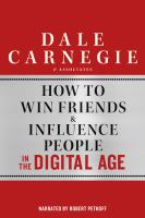 Cover image for How to win friends & influence people in the digital age
