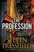 Cover image for The profession a thriller