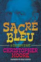 Cover image for Sacré bleu a comedy d'art