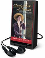 Cover image for Anne's house of dreams. bk. 5 Anne of Green Gables series