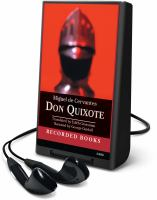 Cover image for Don Quixote