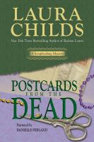 Cover image for Postcards from the dead. bk. 10 Scrapbooking mystery series