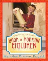 Cover image for Book of Mormon children : a collection of stories set in Book of Mormon times