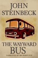 Cover image for The wayward bus