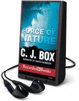 Cover image for Force of nature. bk. 12 Joe Pickett series