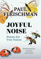 Cover image for Joyful noise poems for two voices