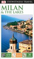 Cover image for Milan & the lakes 2015 : Eyewitness travel