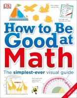Cover image for How to be good at math