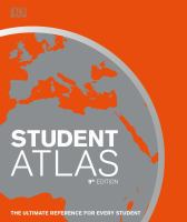 Cover image for Student atlas / published by DK, Penguin Random House, edited by senior cartographic editor, Simon Mumford.