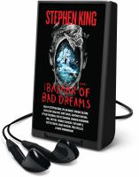 Cover image for The bazaar of bad dreams [Playaway] : stories