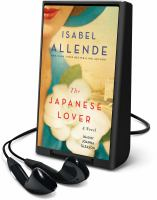 Cover image for The Japanese lover [Playaway]