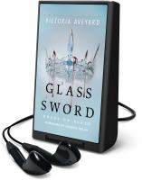 Cover image for Glass sword. bk. 2 [Playaway] : Red queen series